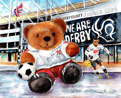 Painting - Teddy Bear Ince by Miki De Goodaboom