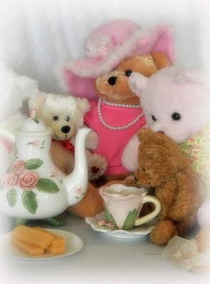 Photograph - Teddy Bear Tea Party by Kenny Francis