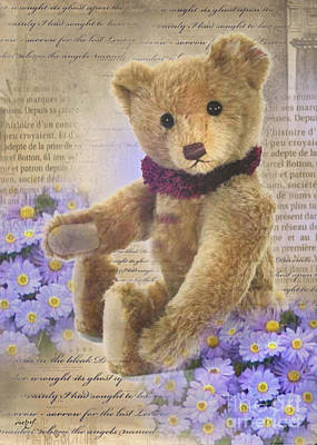 Teddy Bear Time Art Print