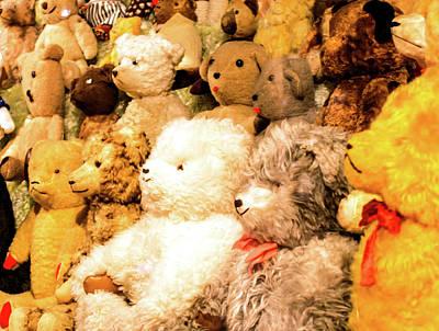 Photograph - Teddy Bears by Jarmo Honkanen