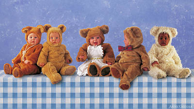 Wall Art - Photograph - Teddy Bears Picnic by Anne Geddes