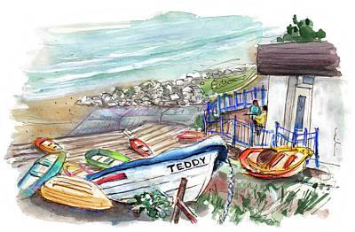 Kitchen Mark Rogan - Teddy Boat In Runswick Bay by Miki De Goodaboom