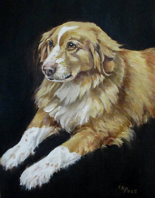 Painting - Teddy by Cheryl Pass