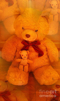 Photograph - Teddy Friends by Martin Howard
