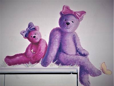 Painting - Teddy's Day by Suzn Art Memorial