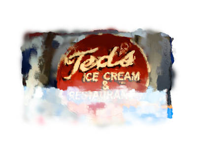 Digital Art - Ted's by Geoff Strehlow