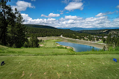 Photograph - Tee Box With As View by Darcy Michaelchuk
