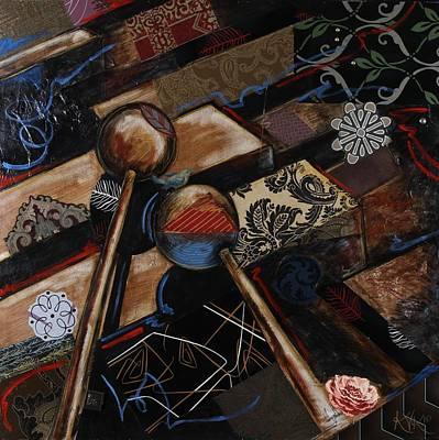 Tee The Marimba Art Print