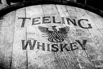 Photograph - Teeling Whiskey Barrel by Georgia Fowler