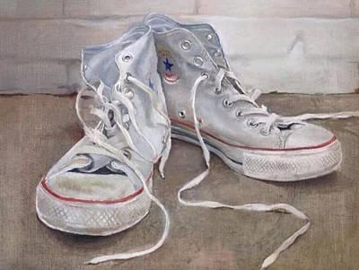 All-star Painting - Teenage Kicks by Sara Sutton