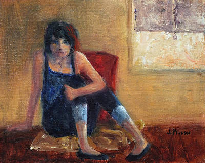 Painting - Teenager by Jill Musser