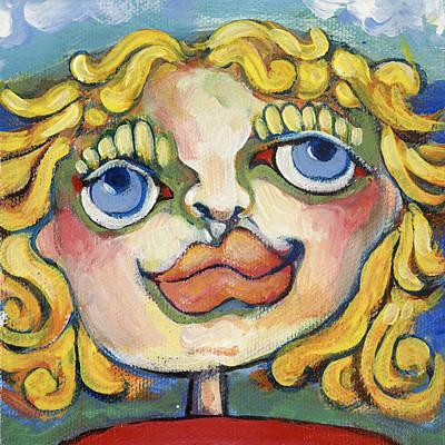 Painting - Teenie Weenie by Michelle Spiziri
