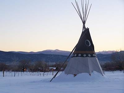 Photograph - Taos Teepee by Jeannie Bushman