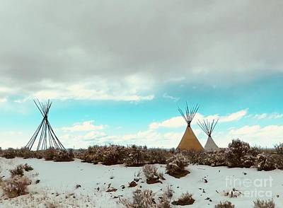 Photograph - Teepee by LeLa Becker