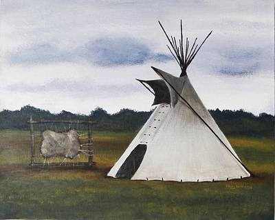 Painting - Teepee by Stacy Williams