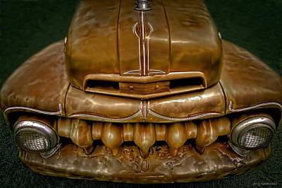 Red Chev Photograph - Teeth by Jerry Golab