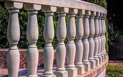Photograph - Teeth Of The Balustrade by John M Bailey