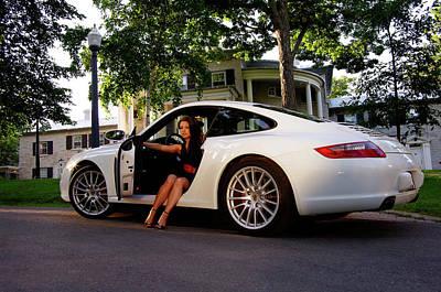 Tegan Porsche Art Print