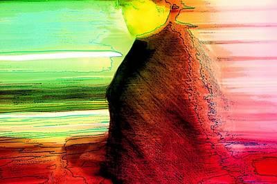 Painting - Tegenwind by Arie Van Garderen