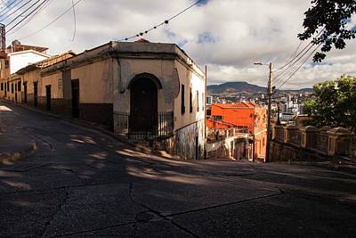 Photograph - Tegucigalpa's Streets And Alleyways - 2 by Hany J