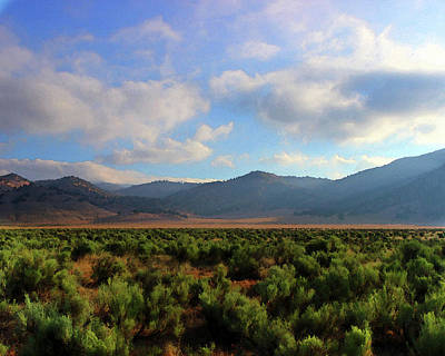Photograph - Tehachapi Mountains 2 by Timothy Bulone