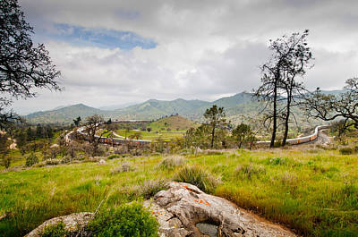 Photograph - Tehachapi Train Loop And Mountains by Connie Cooper-Edwards