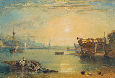 Turner Painting - Teignmouth, Devonshire by JMW Turner