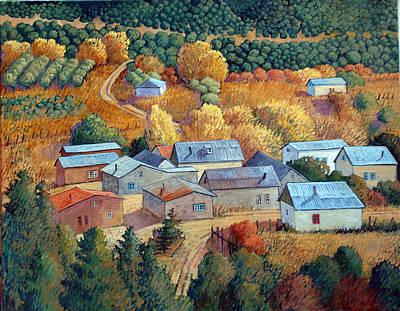 Painting - Tejados De Cordova by Donna Clair