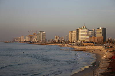 Photograph - Tel Aviv Coast. by Shlomo Zangilevitch