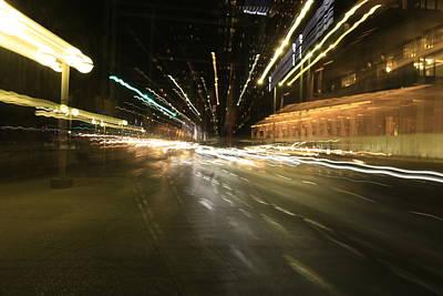 Photograph - Tel Aviv Zoomimg by Shlomo Zangilevitch