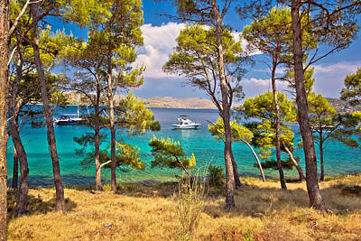 Photograph - Telascica Bay Nature Park Yachting Destination by Brch Photography