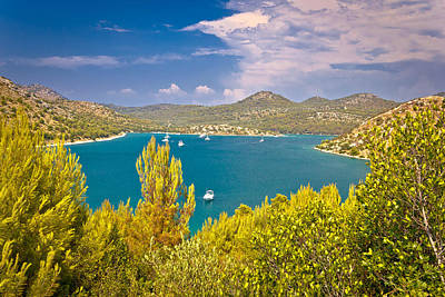 Photograph - Telascica Bay Yachting And Sailing Destination by Brch Photography