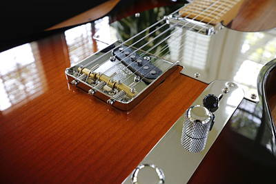 David Bowie Royalty Free Images - Telecaster Royalty-Free Image by Jeff Roney