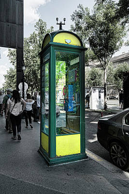 Photograph - Telefone by Sharon Popek