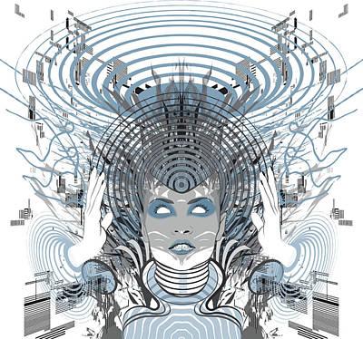 Digital Art - Telepathy by Jason Casteel