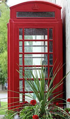 Photograph - Telephone Box by Ann E Robson