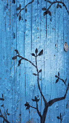 Photograph - Telephone Pole Art - 3 by Keith Boone