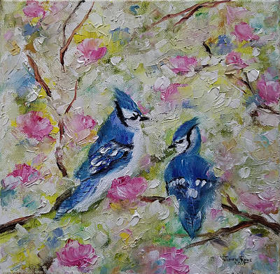 Painting - Tell Me by Judith Rhue