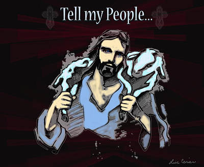 Tell My People Original by Lisa Carian