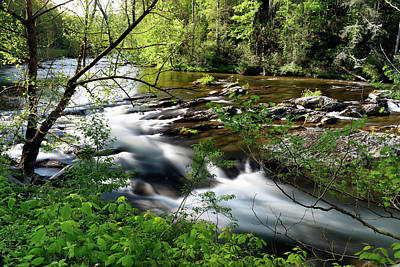 Photograph - Tellico Run by Nicholas Blackwell