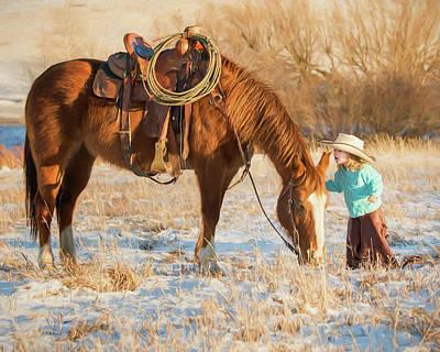 Photograph - Telling Secrets by Phyllis Burchett