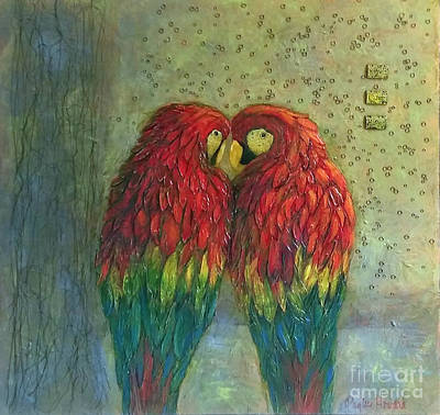 Painting - Telling Secrets by Phyllis Howard