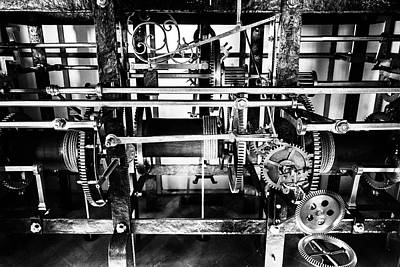 Photograph - Clock Mechanism by M G Whittingham