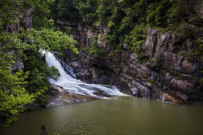 Photograph - Tallulah Falls by Sean Allen