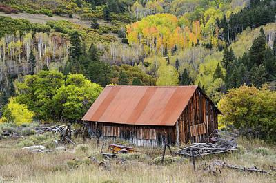 Photograph - Telluride Barn by Aaron Spong
