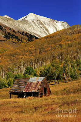 Photograph - Telluride Cabin by Doug Sturgess