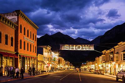 Photograph - Telluride Main Street by Whit Richardson