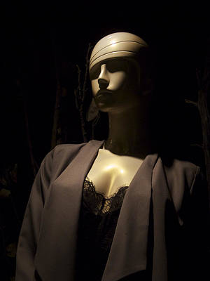 Photograph - Telluride Mannequin At Night by Mary Lee Dereske