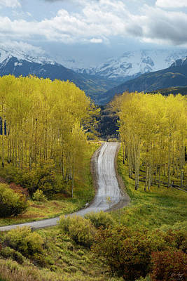 Photograph - Telluride Road by Aaron Spong