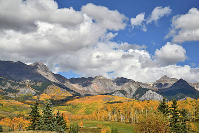 Photograph - Telluride Skyline Fall Colors by Ray Mathis